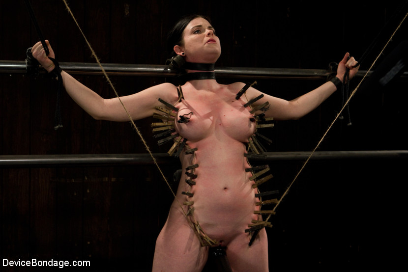 Hogtied and tickled until she screams 3